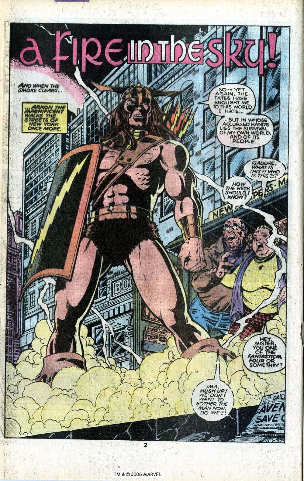 Read online Uncanny X-Men (1963) comic -  Issue # _Annual 3 - 4