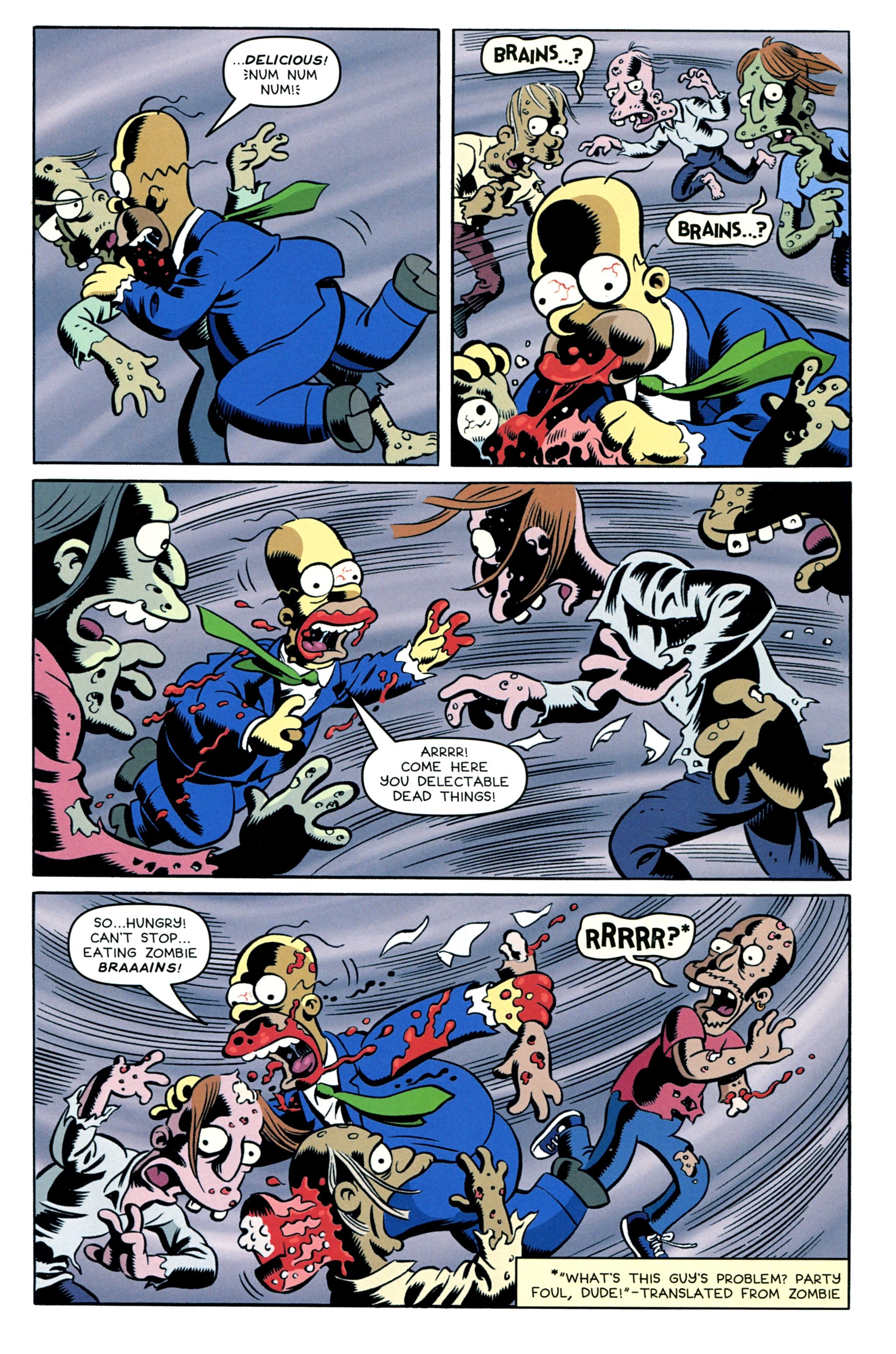 Read online Treehouse of Horror comic -  Issue #20 - 11