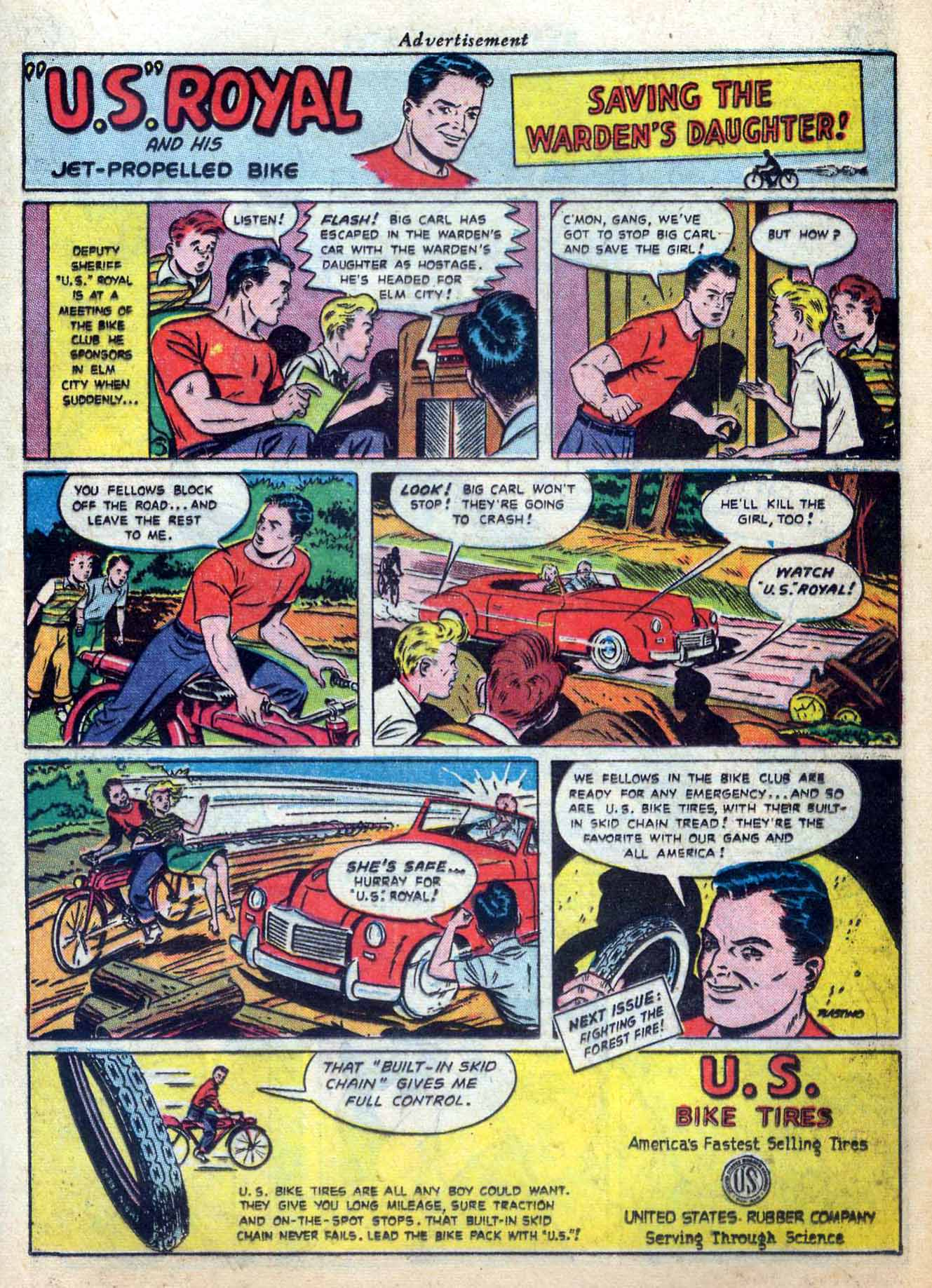 Read online Sensation (Mystery) Comics comic -  Issue #59 - 23