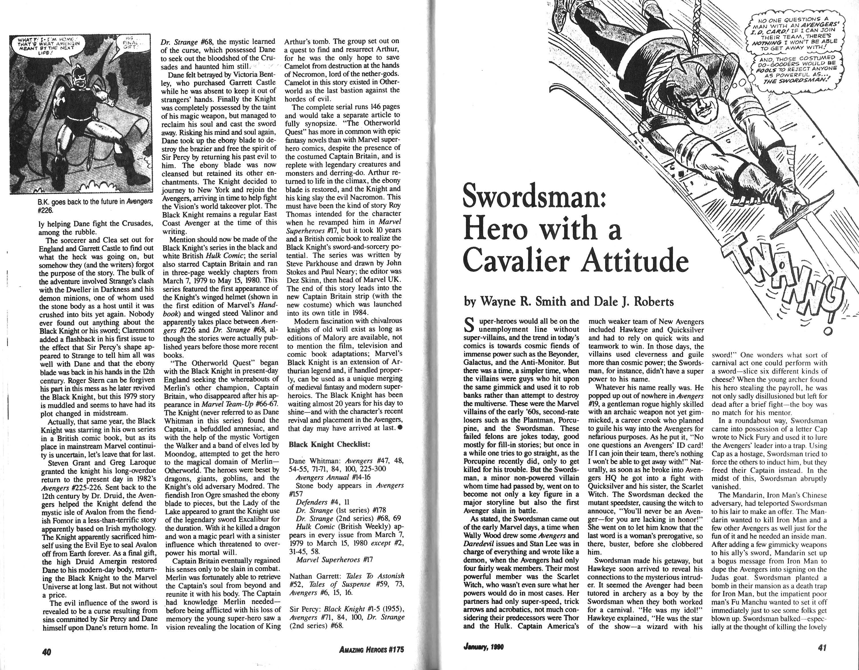 Read online Amazing Heroes comic -  Issue #175 - 21
