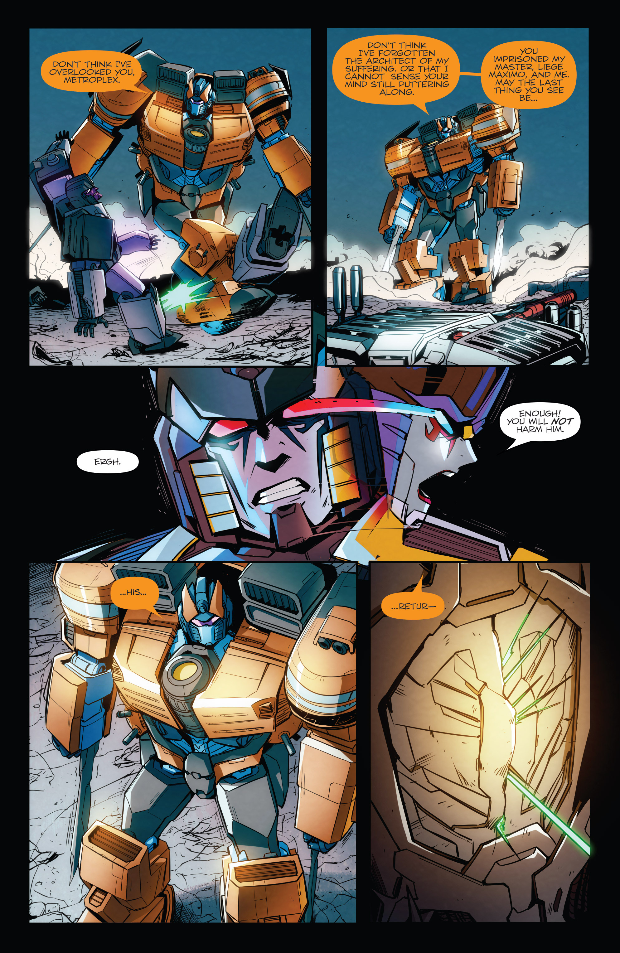 Read online Transformers: Till All Are One comic -  Issue #8 - 15