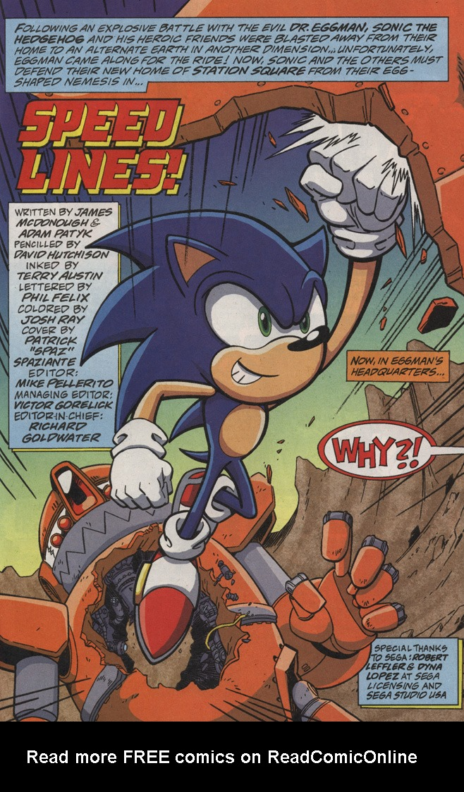 Read online Sonic X comic -  Issue #20 - 3