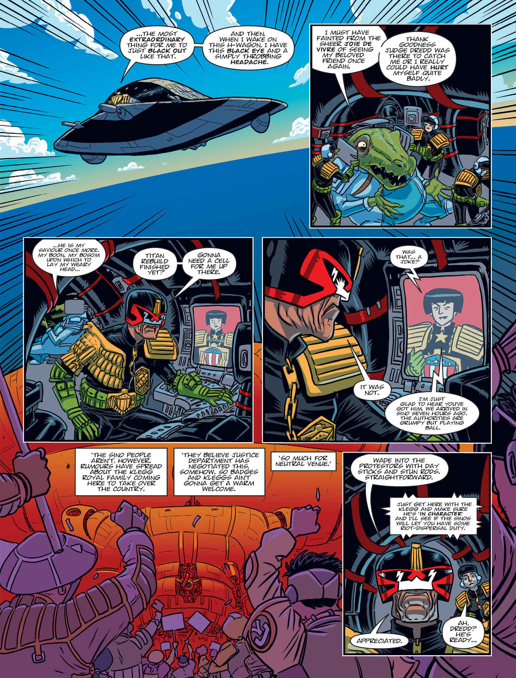 Read online 2000 AD comic -  Issue #1970 - 6