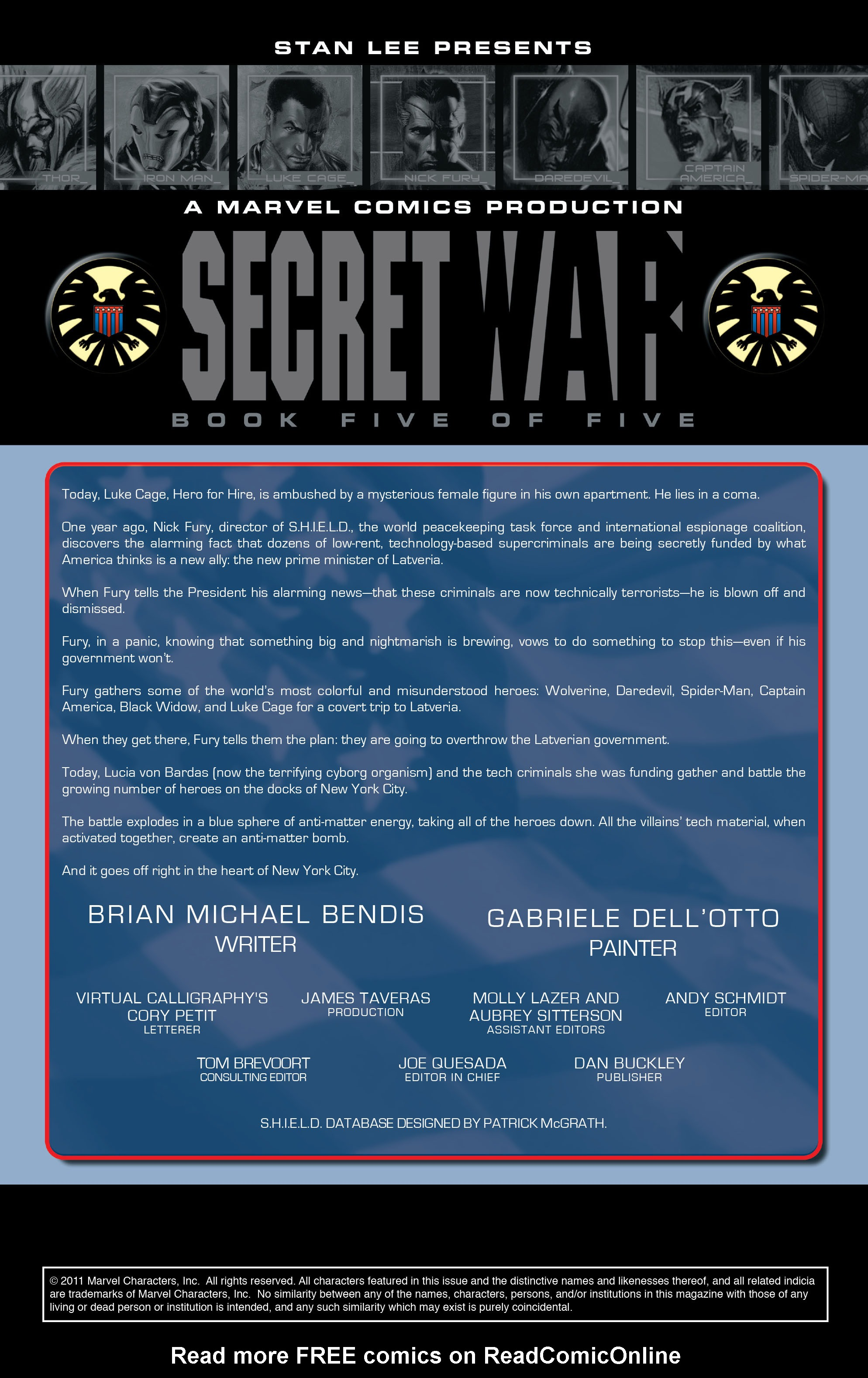 Read online Secret War comic -  Issue # Full - 93