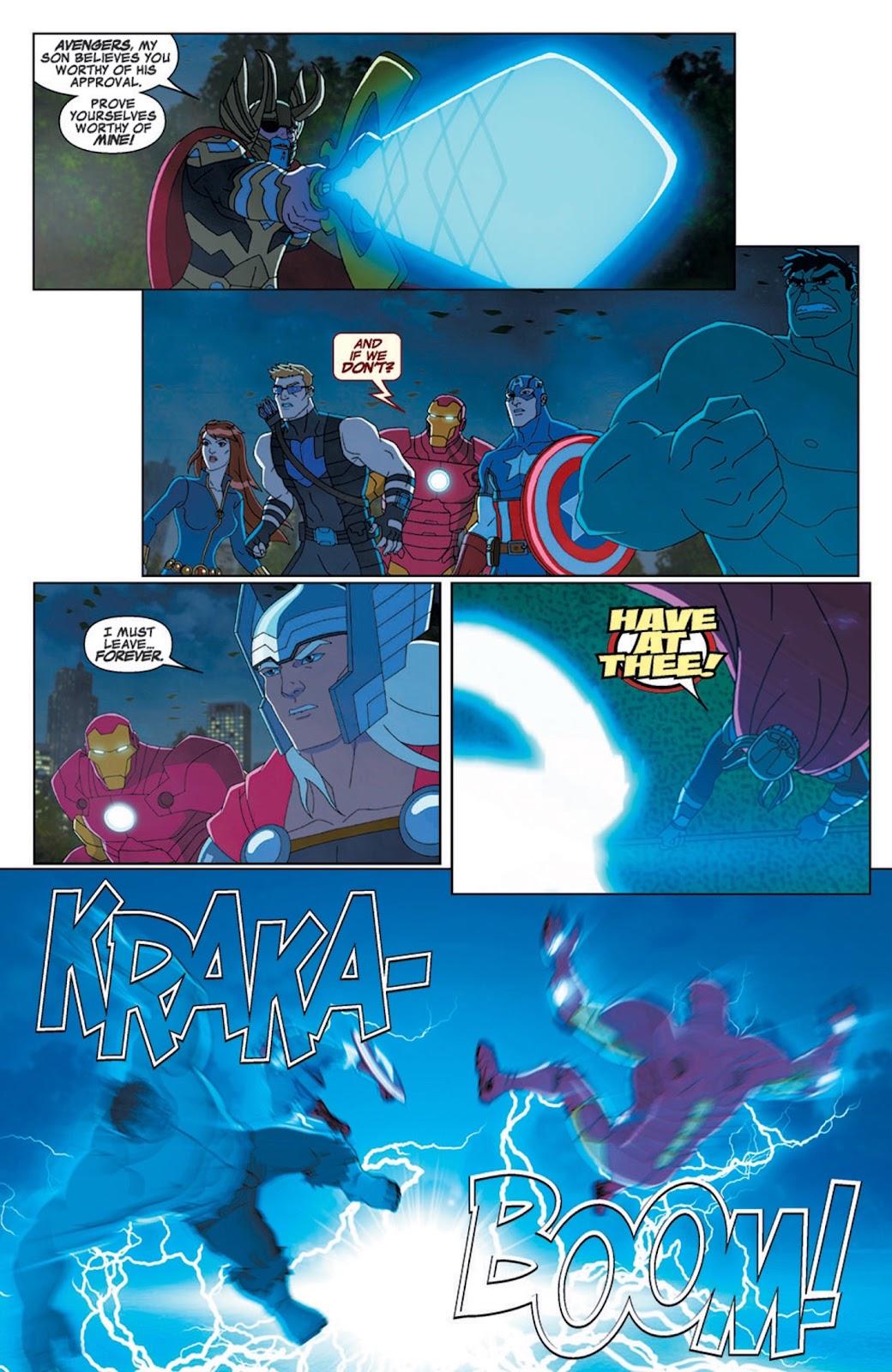 Read online Marvel Universe Avengers Assemble Season 2 comic -  Issue #7 - 6