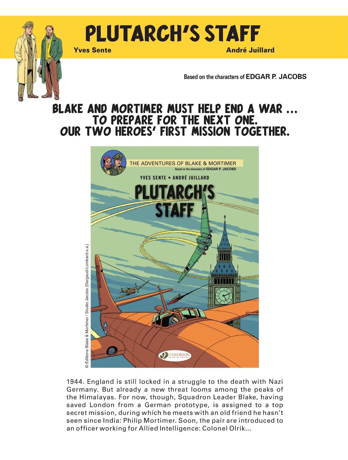 Read online Blake & Mortimer comic -  Issue #25 - 64