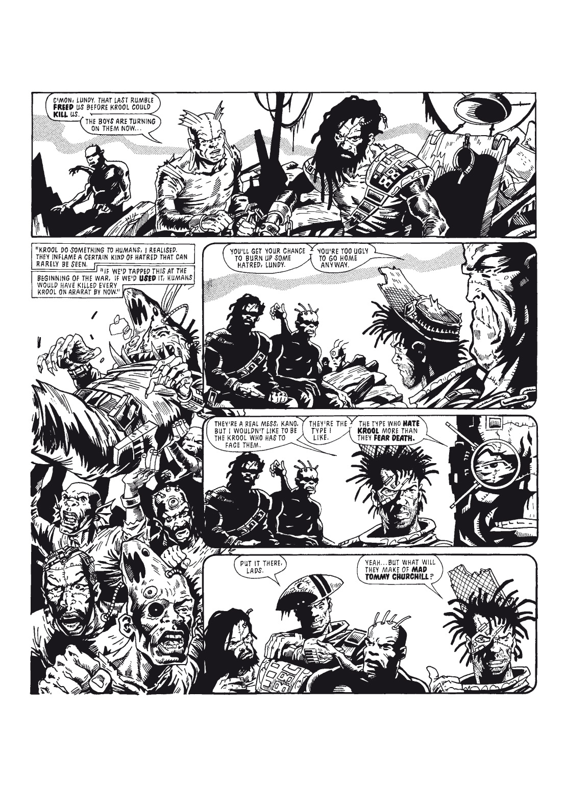 Read online The Complete Bad Company comic -  Issue # TPB - 101