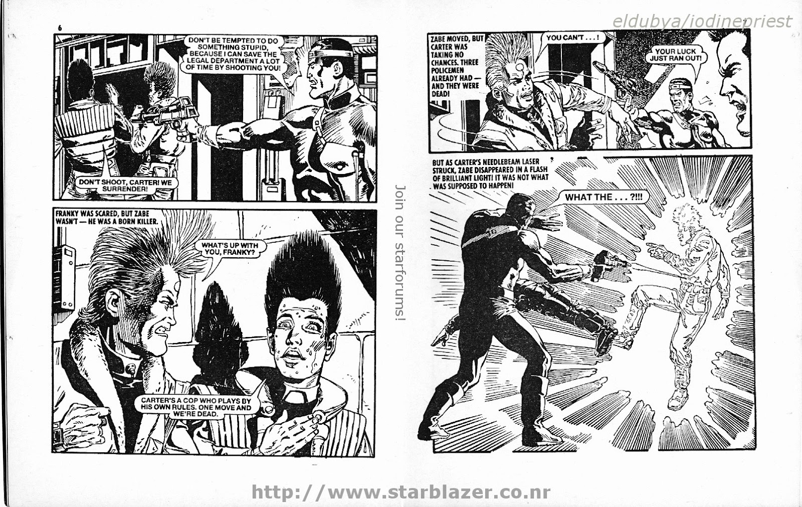 Starblazer issue 215 - Page 5