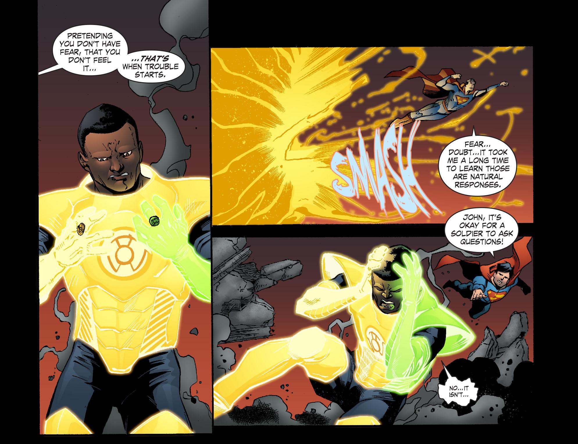Read online Smallville: Lantern [I] comic -  Issue #10 - 17