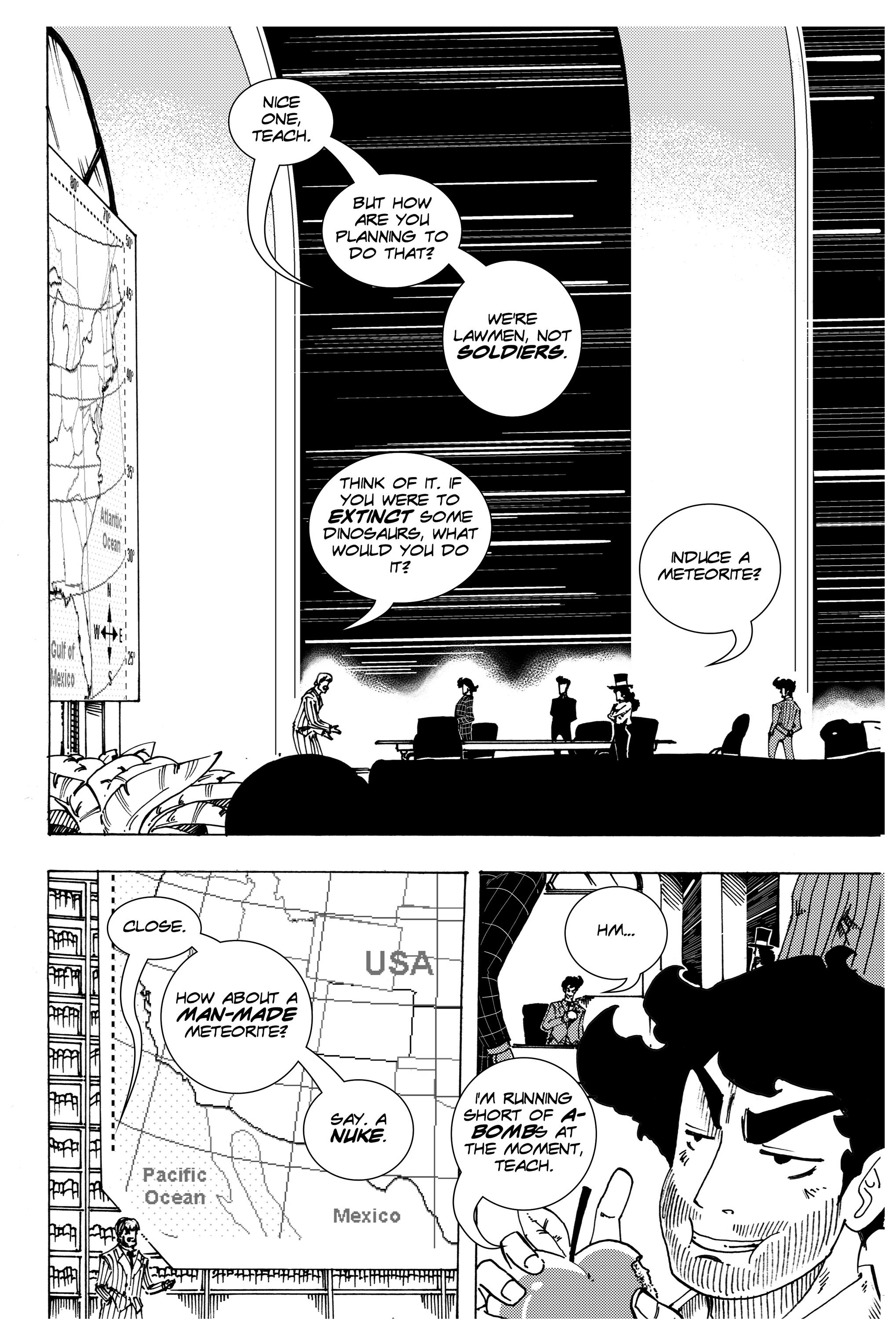 Read online Silvertongue 30xx Vol. 3 comic -  Issue # Full - 15