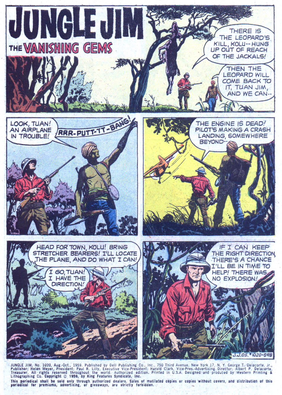Four Color Comics issue 1020 - Page 3