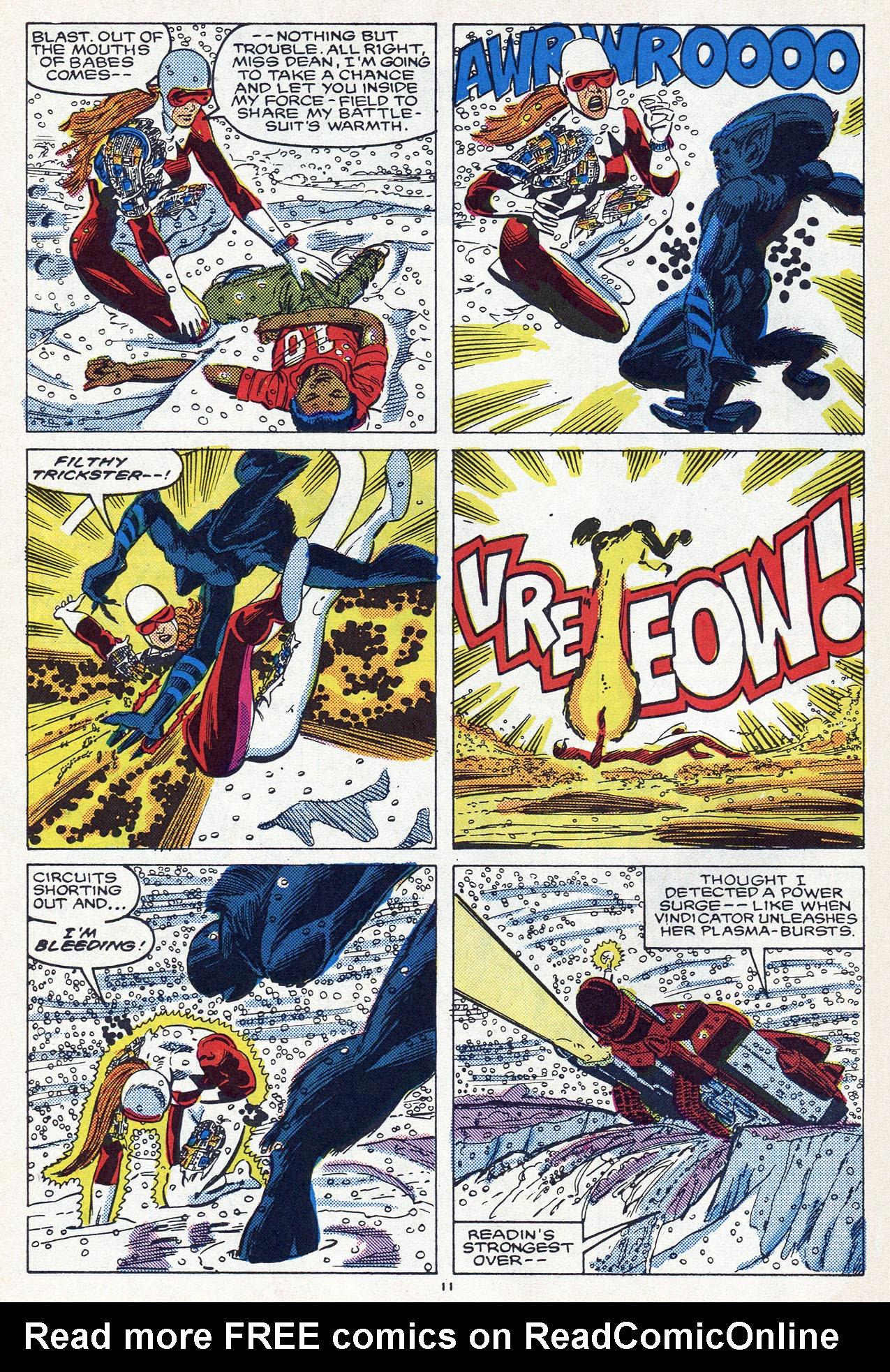 Read online Alpha Flight (1983) comic -  Issue #54 - 16