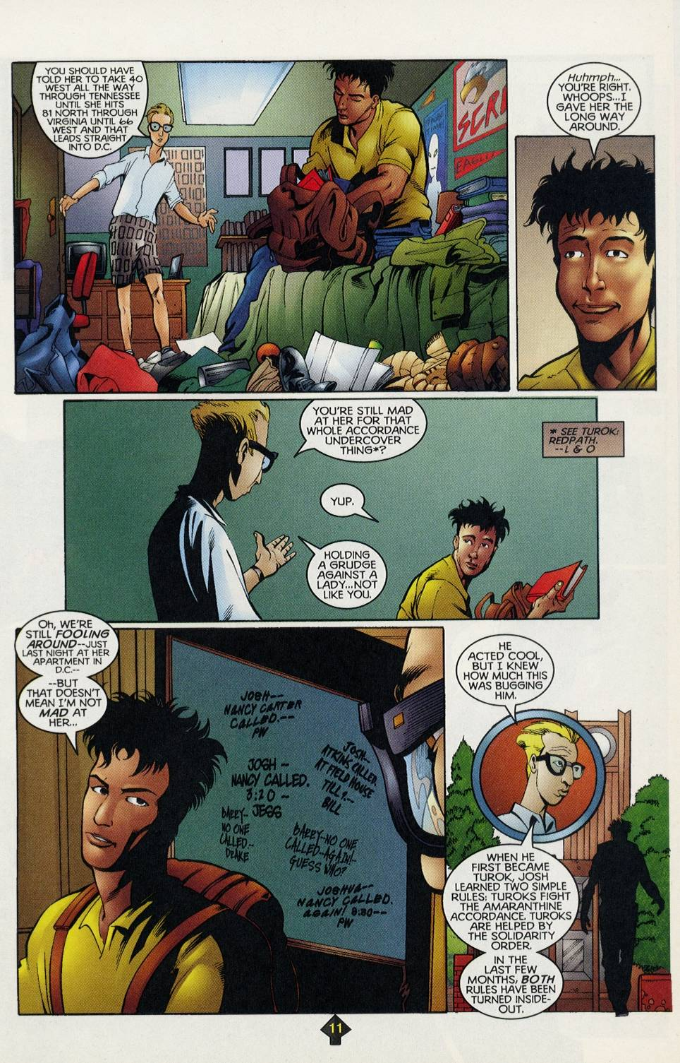 Read online Turok comic -  Issue #3 - 11