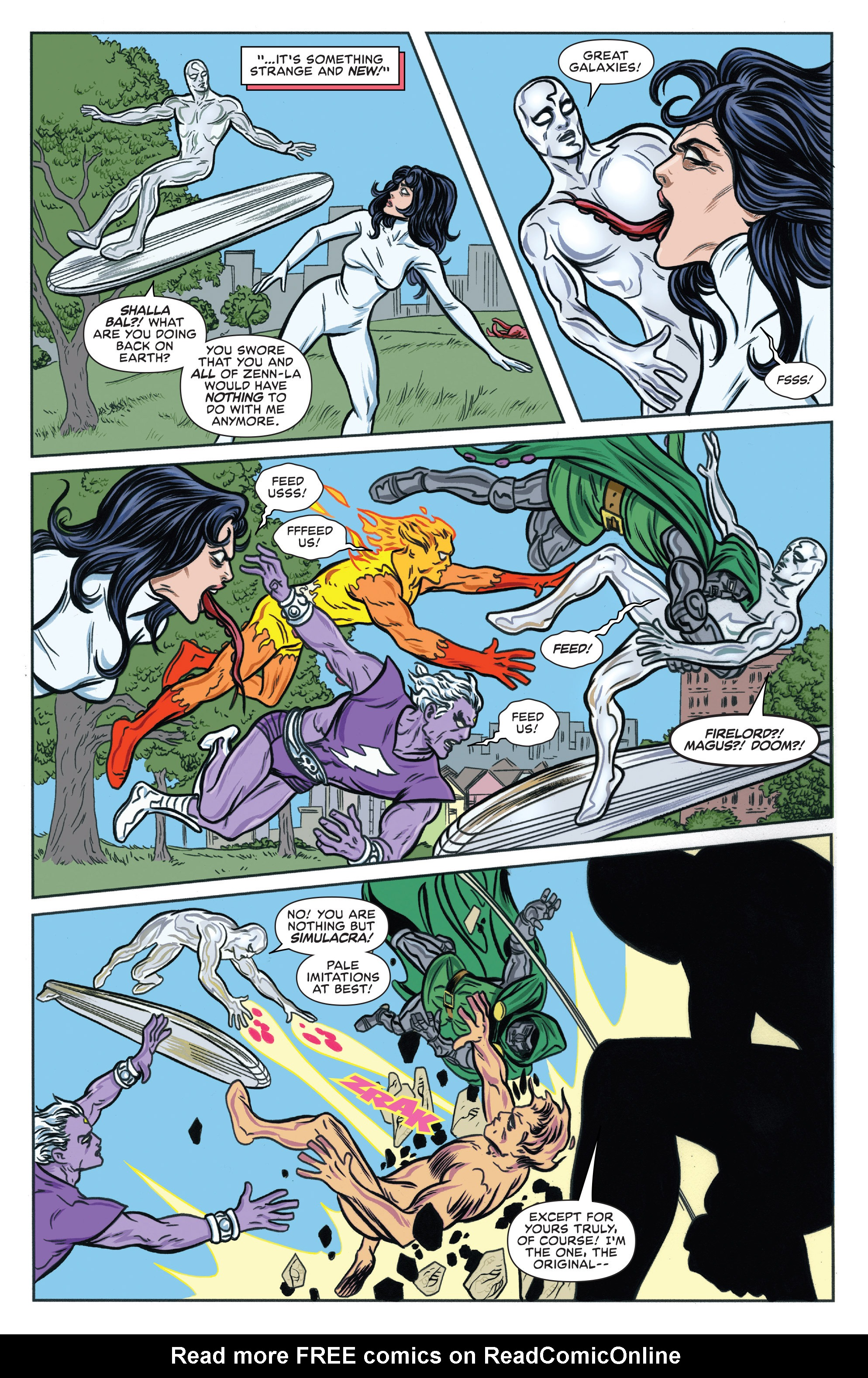 Read online Silver Surfer (2016) comic -  Issue #6 - 12