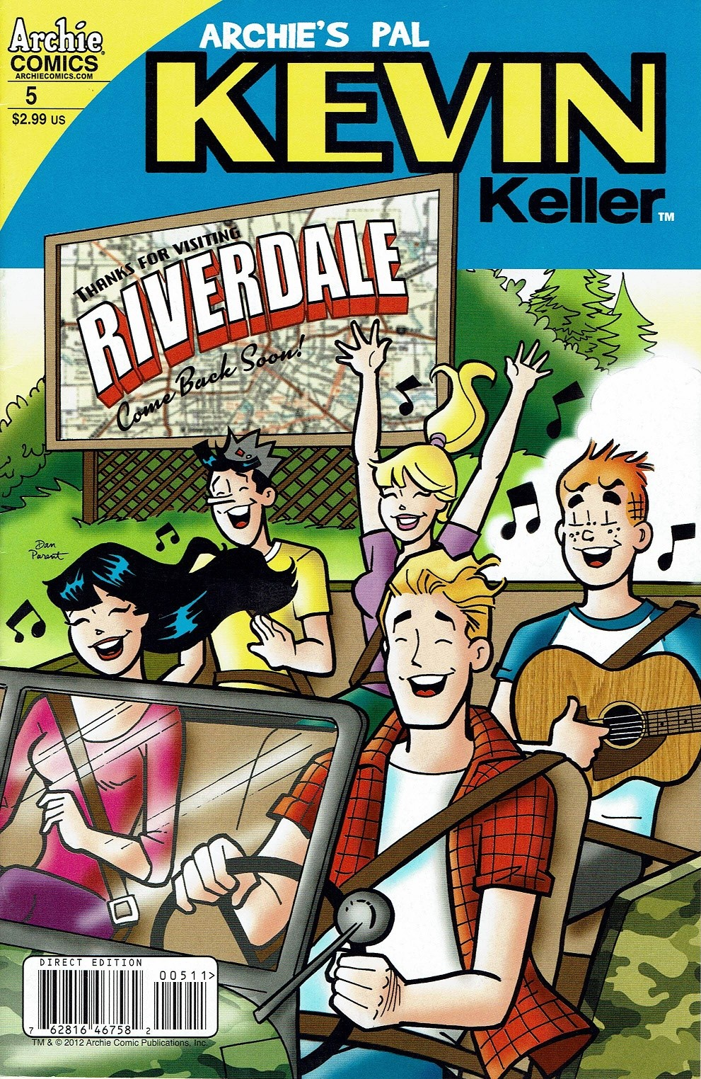 Read online Kevin Keller comic -  Issue #5 - 1