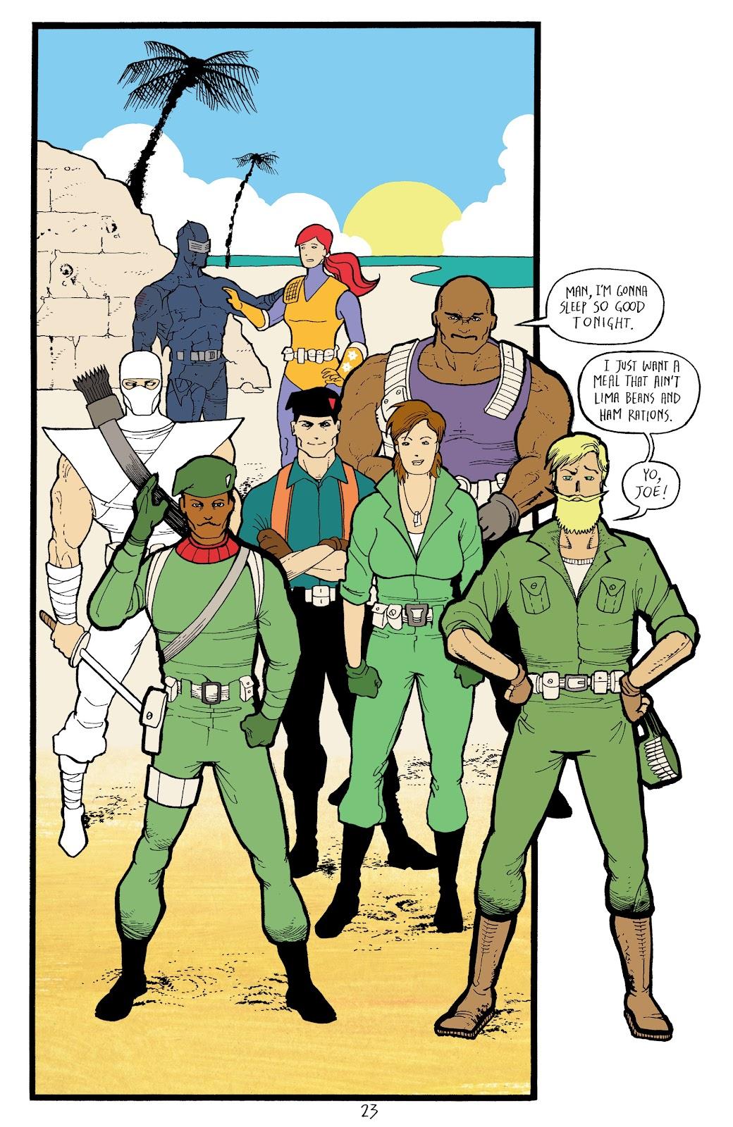 Read online G.I. Joe: Sierra Muerte comic -  Issue #3 - 25