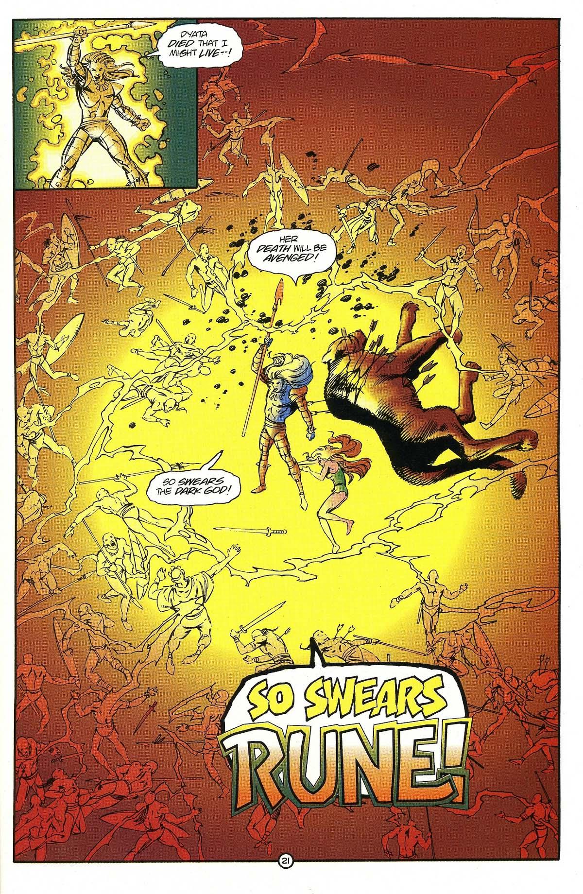 Read online Rune (1994) comic -  Issue #7 - 23
