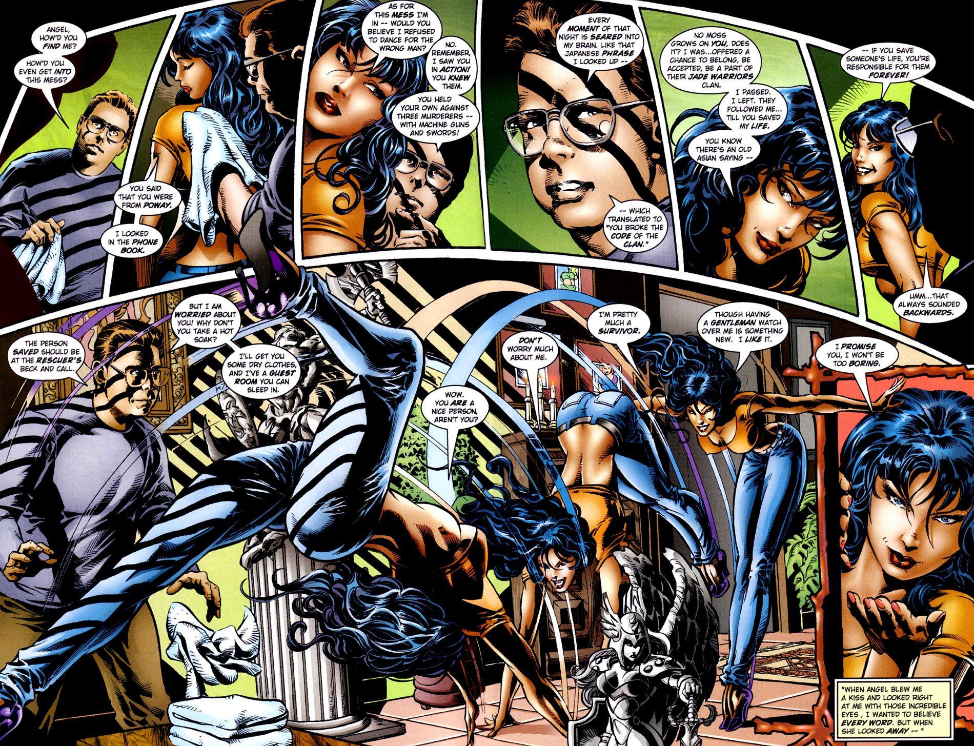 Read online Jade Warriors comic -  Issue #2 - 8