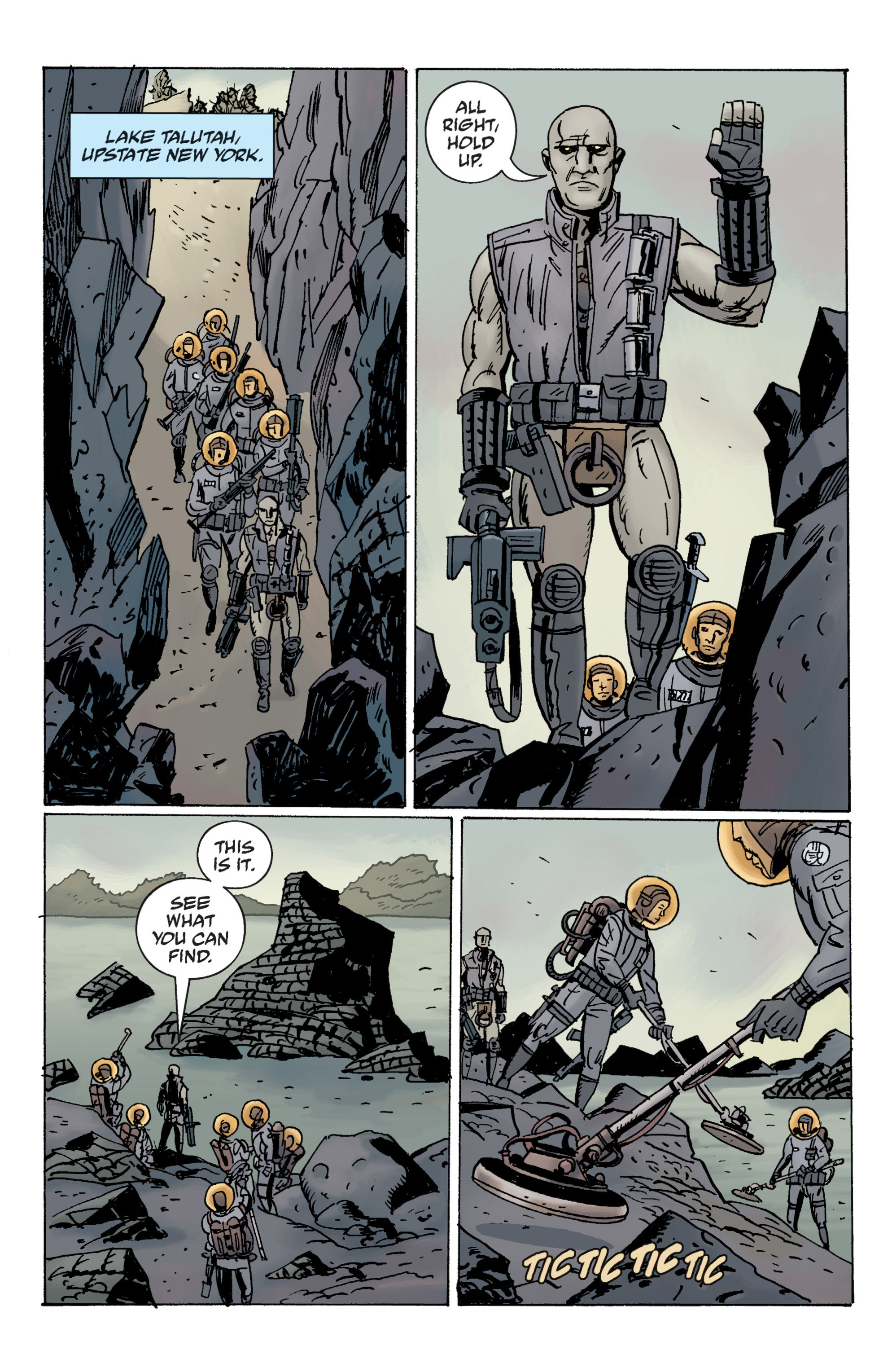 Read online B.P.R.D. (2003) comic -  Issue # TPB 12 - 12