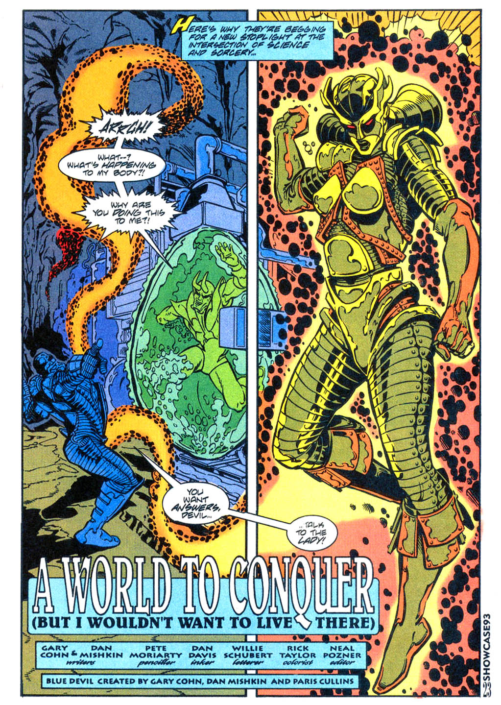 Read online Showcase '93 comic -  Issue #4 - 20