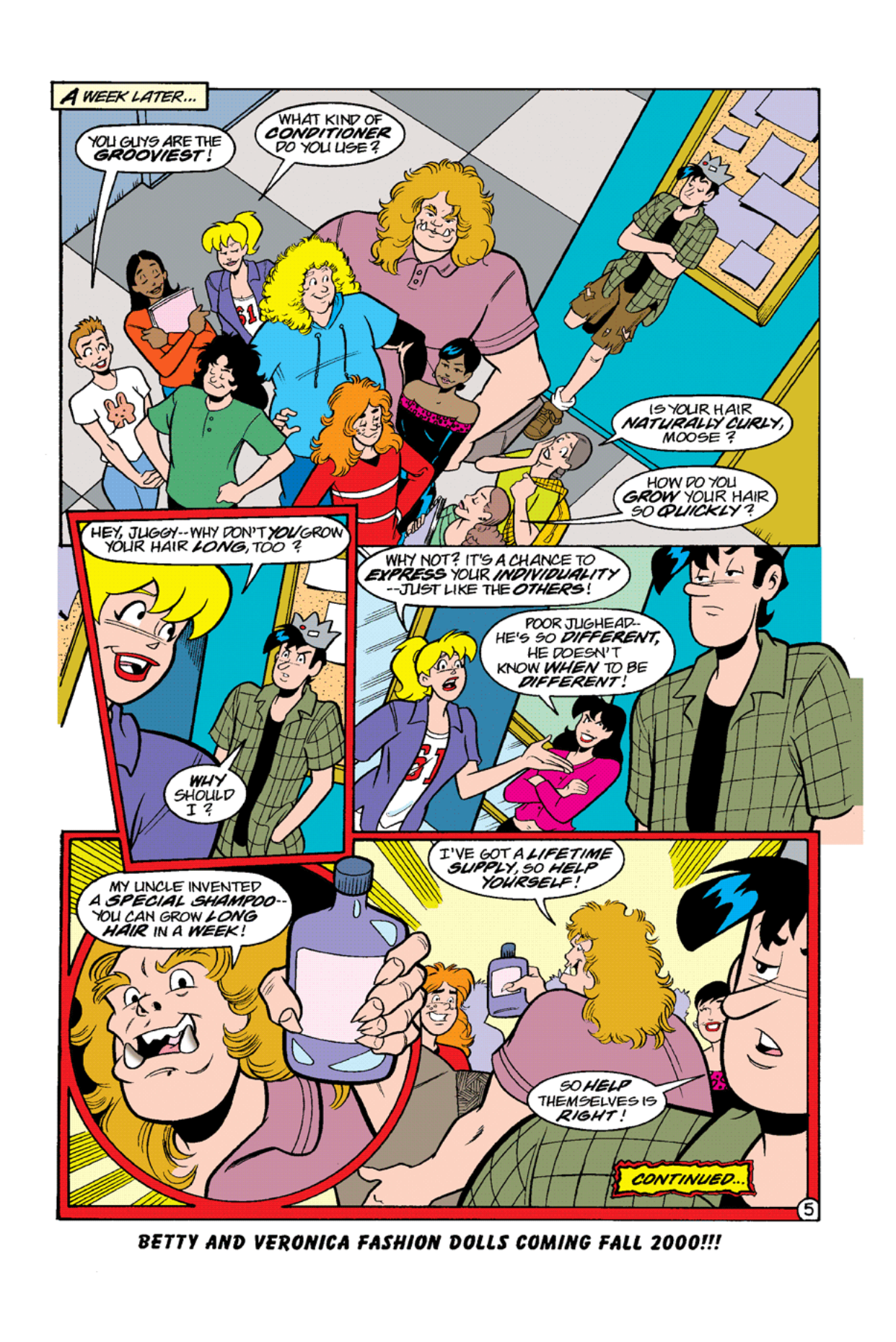 Read online Archie's Weird Mysteries comic -  Issue #10 - 7