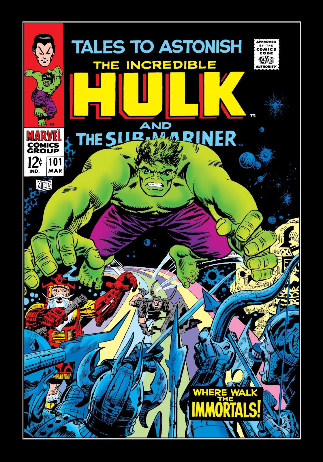 Read online Marvel Masterworks: The Incredible Hulk comic -  Issue # TPB 3 (Part 3) - 51