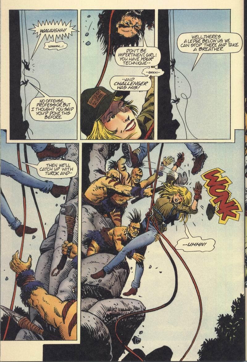 Read online Turok, Dinosaur Hunter (1993) comic -  Issue #7 - 17