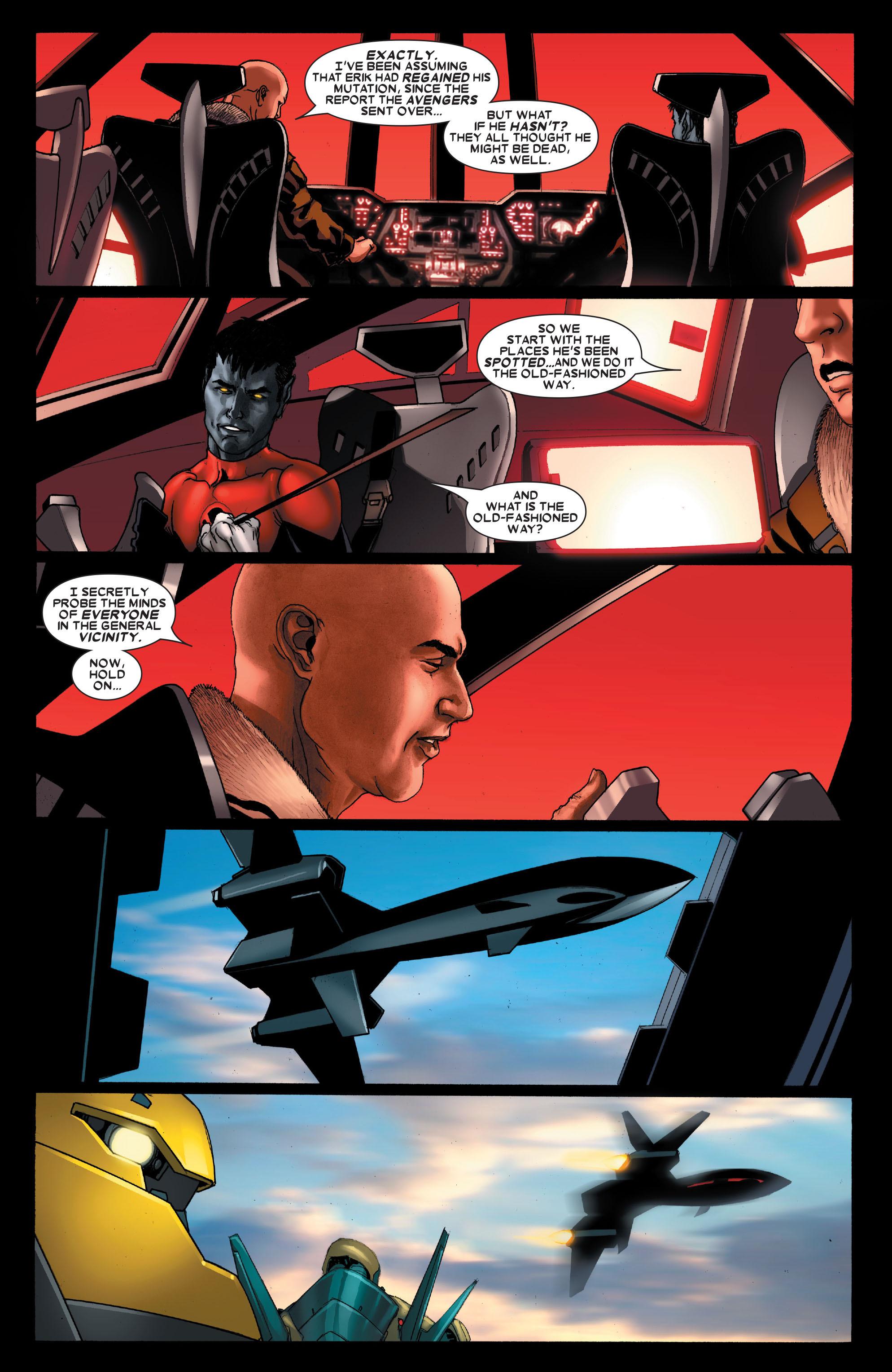 Read online Uncanny X-Men (1963) comic -  Issue #488 - 16