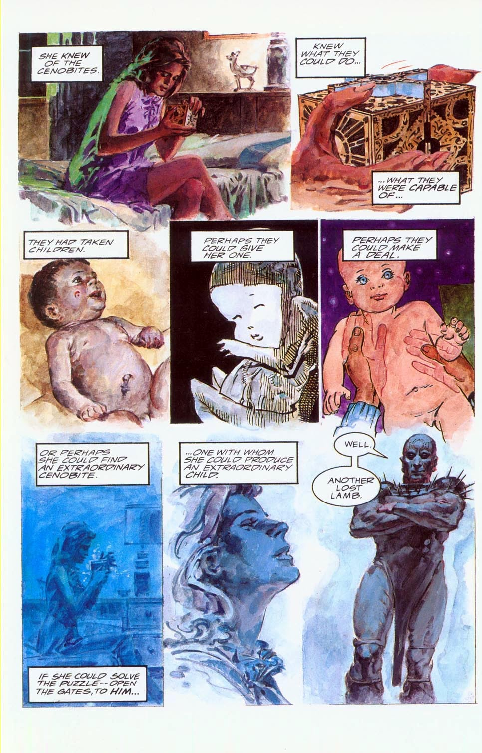 Read online Clive Barker's Hellraiser (1989) comic -  Issue # Annual 1 - 8