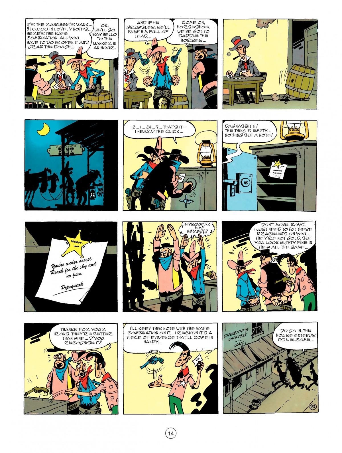 Read online A Lucky Luke Adventure comic -  Issue #44 - 14