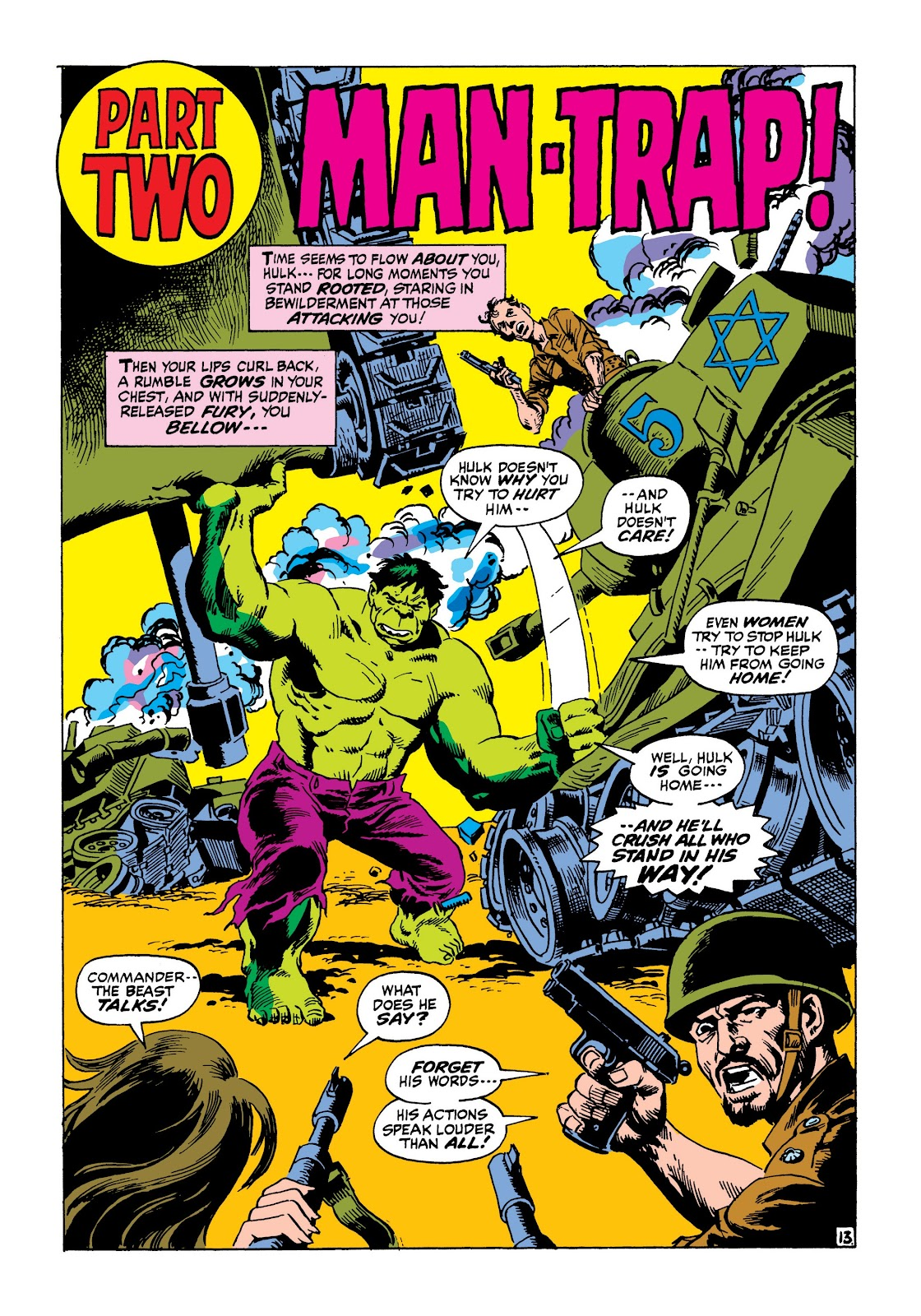 Read online Marvel Masterworks: The Incredible Hulk comic -  Issue # TPB 8 (Part 1) - 54
