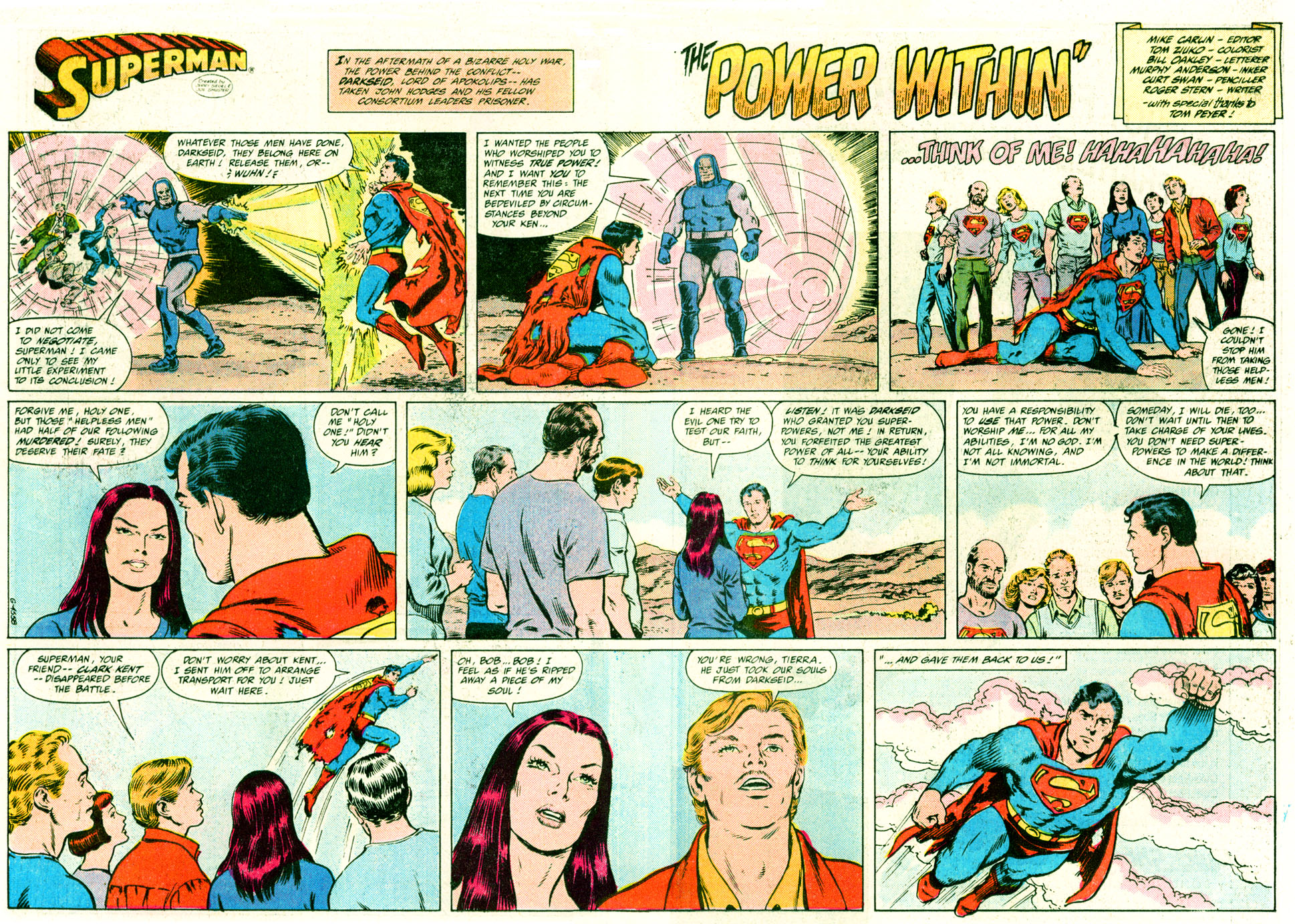 Read online Action Comics (1938) comic -  Issue #638 - 22
