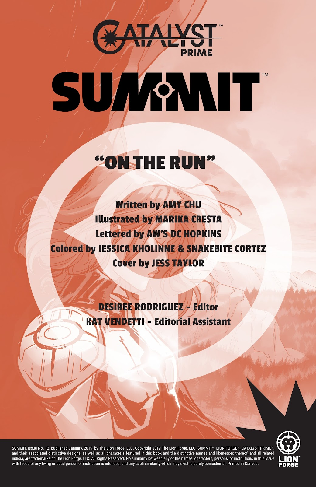 Read online Summit comic -  Issue #12 - 2