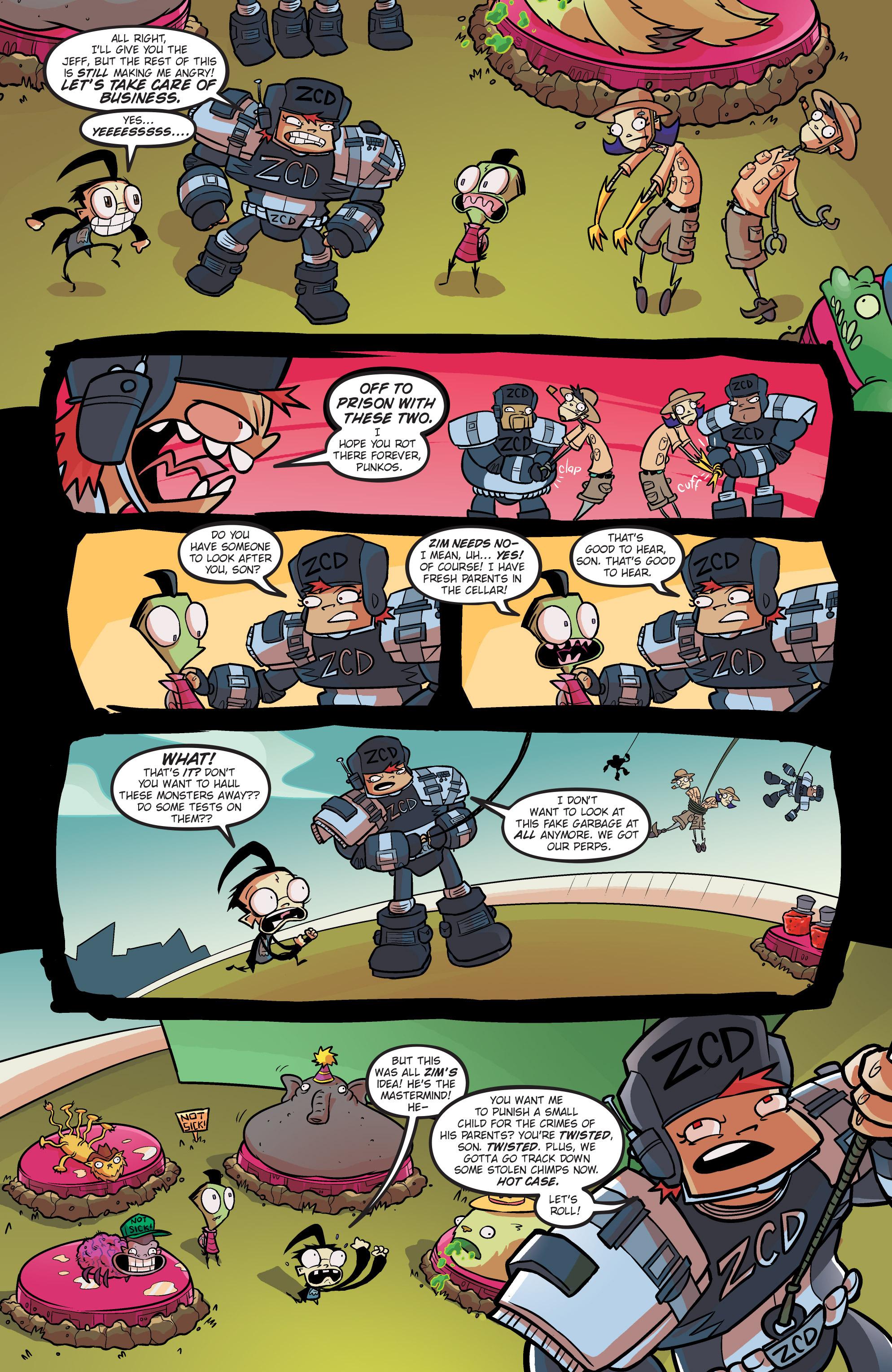 Read online Invader Zim comic -  Issue #19 - 22