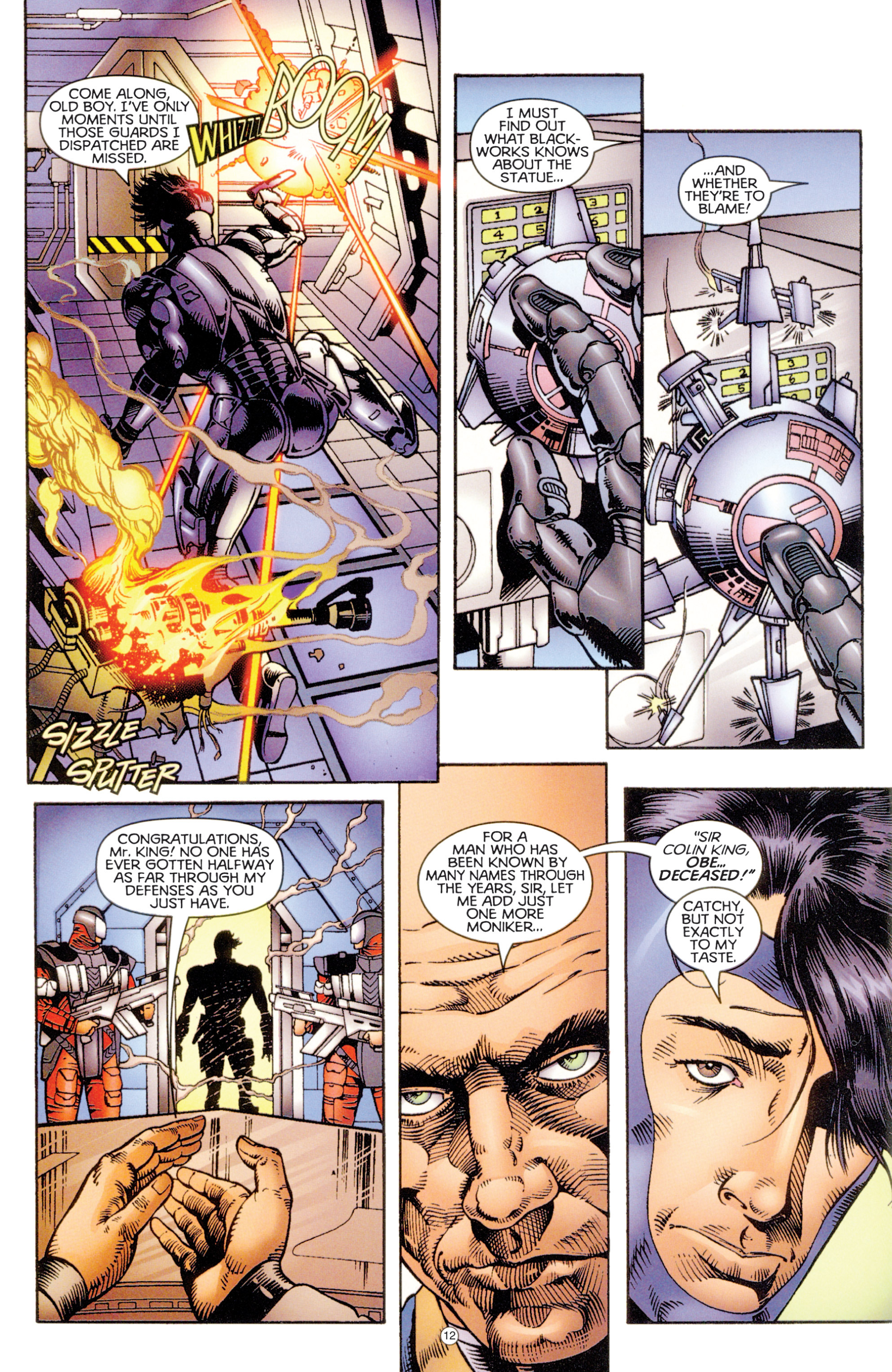 Read online Eternal Warriors comic -  Issue # Issue Digital Alchemy - 11
