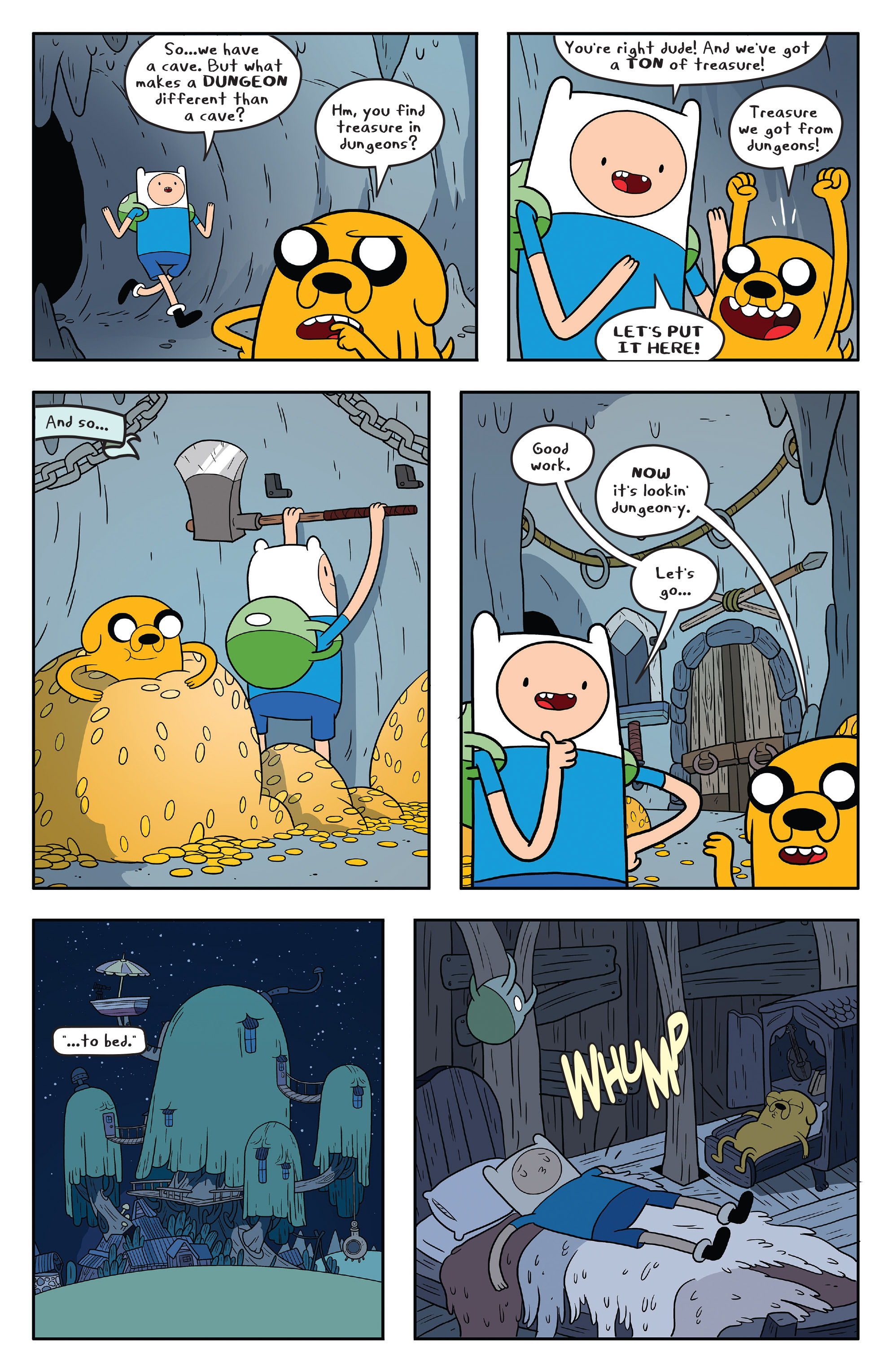 Read online Adventure Time comic -  Issue #58 - 15