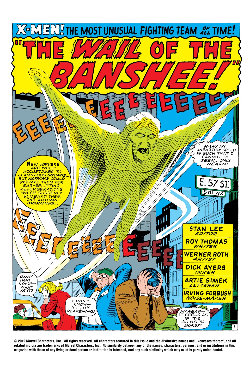 Uncanny X-Men (1963) issue 28 - Page 2