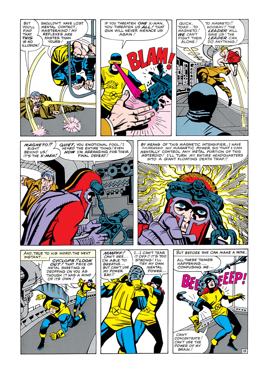 Read online Uncanny X-Men (1963) comic -  Issue #5 - 20