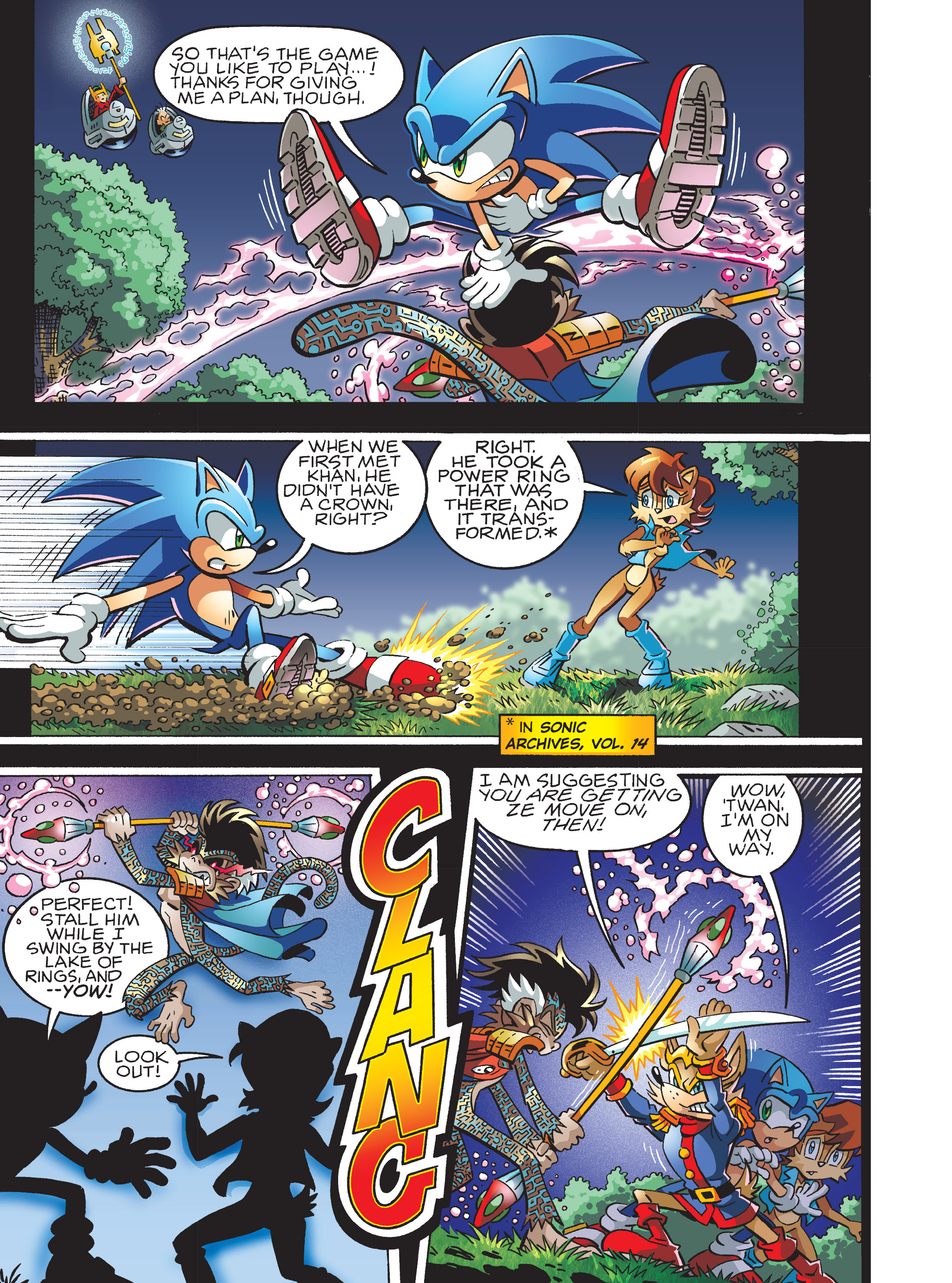 Read online Sonic Super Digest comic -  Issue #7 - 31