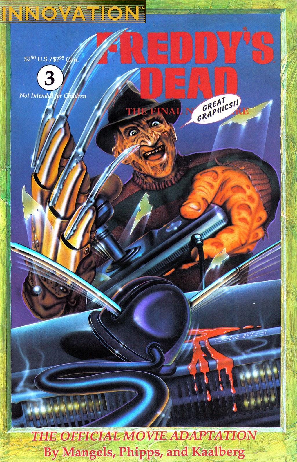 Read online Freddy's Dead: The Final Nightmare comic -  Issue #3 - 1