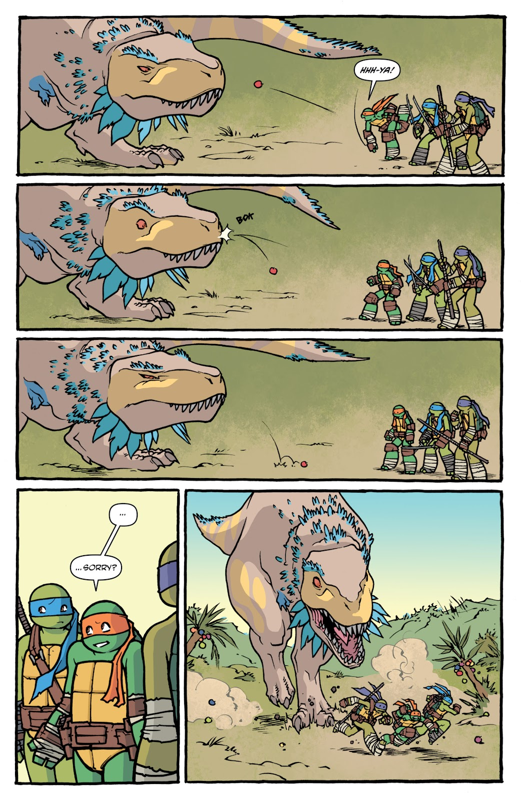 Read online Teenage Mutant Ninja Turtles: The IDW Collection comic -  Issue # TPB 5 (Part 1) - 13
