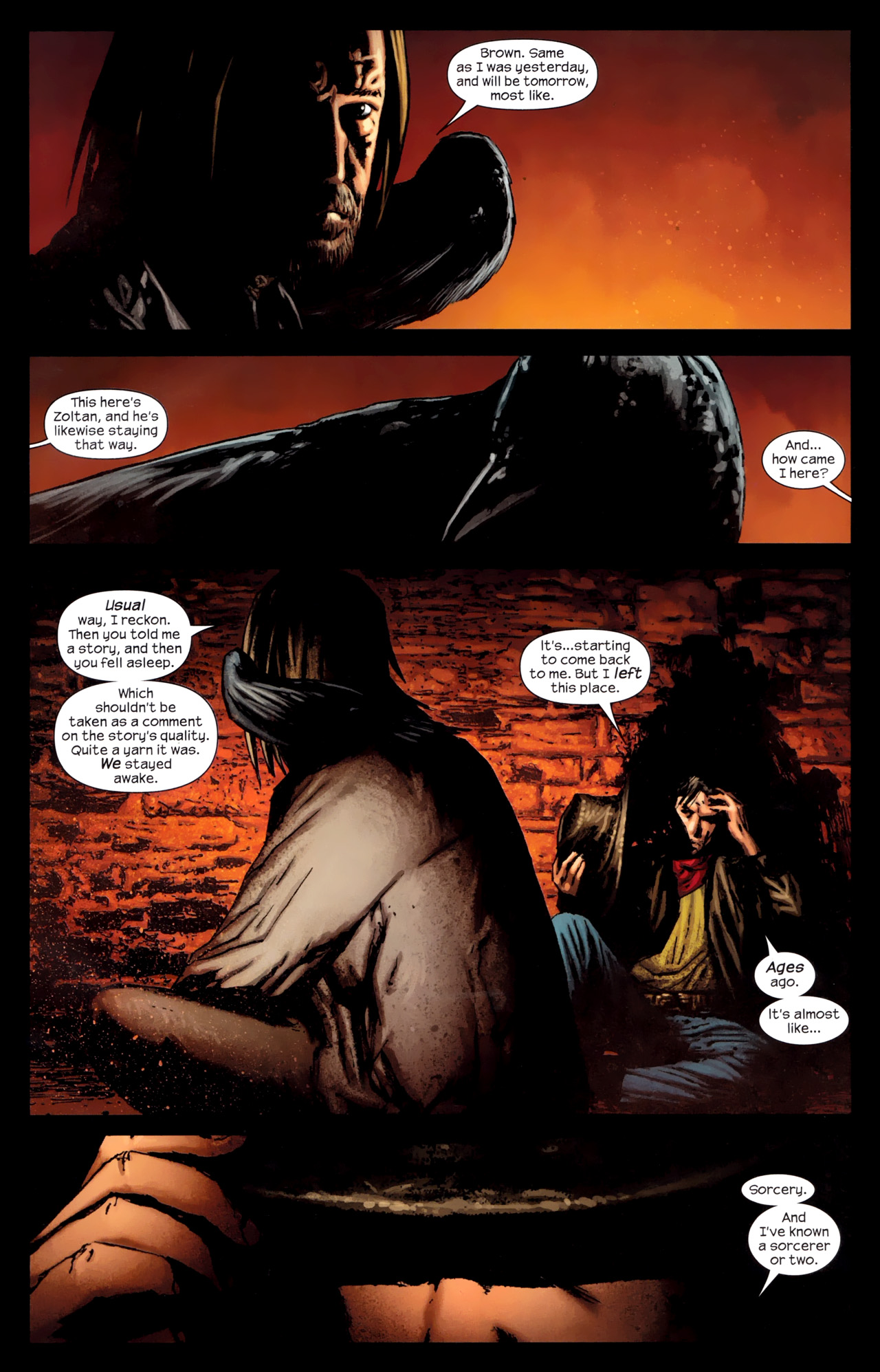 Read online Dark Tower: The Gunslinger - The Way Station comic -  Issue #1 - 4