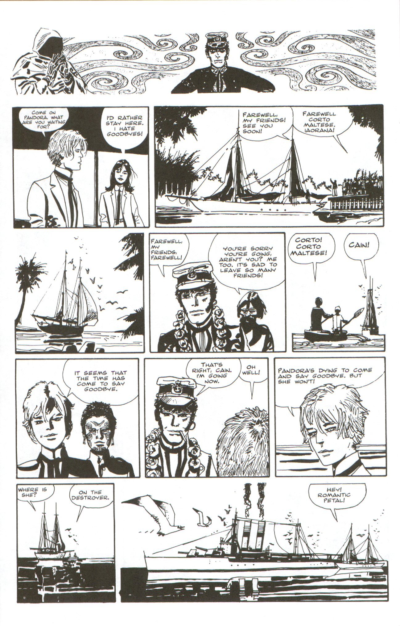 Read online Corto Maltese: Ballad of the Salt Sea comic -  Issue #7 - 20