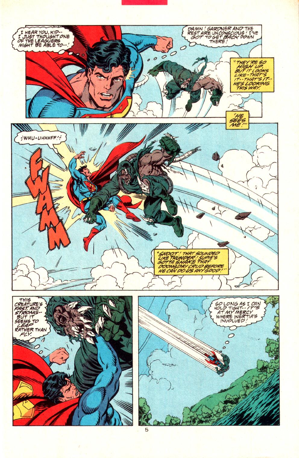 Read online Adventures of Superman (1987) comic -  Issue #497 - 6