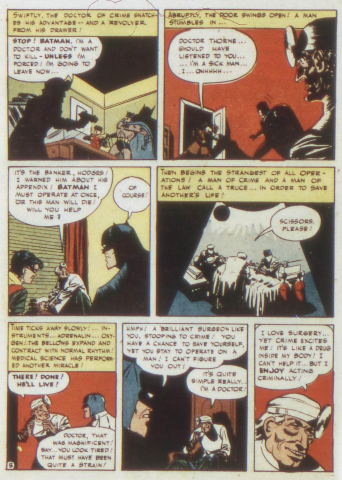 Read online Detective Comics (1937) comic -  Issue #77 - 10