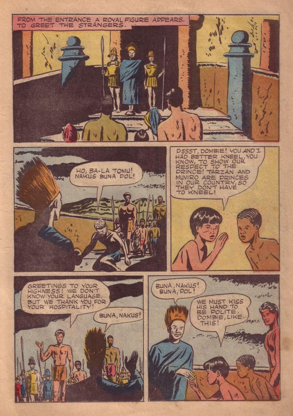 Tarzan (1948) issue 8 - Page 19