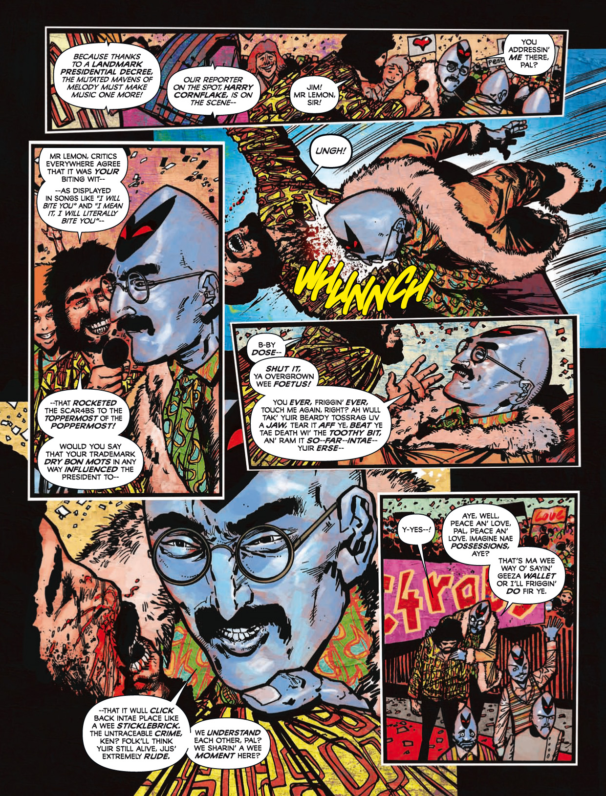 Read online 2000 AD comic -  Issue #1746 - 147