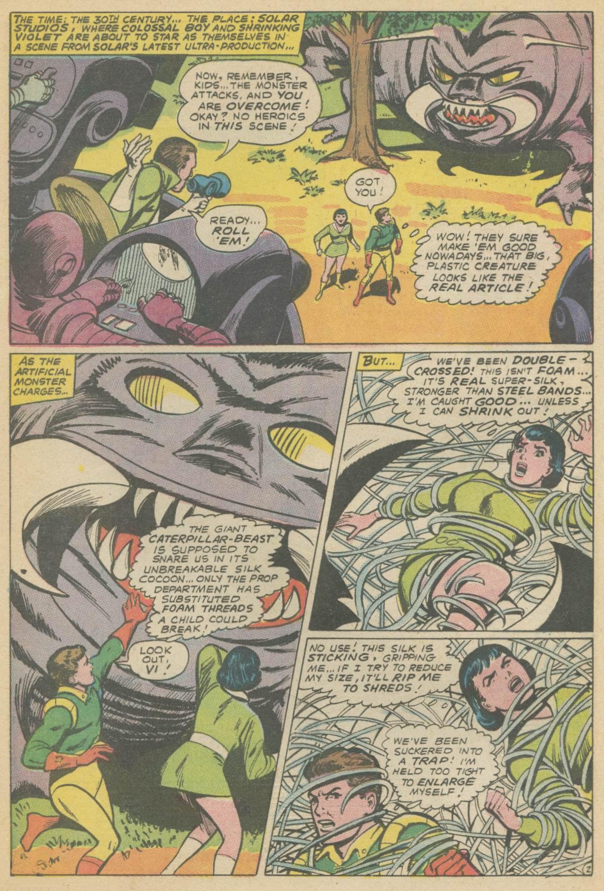 Read online Adventure Comics (1938) comic -  Issue #374 - 4