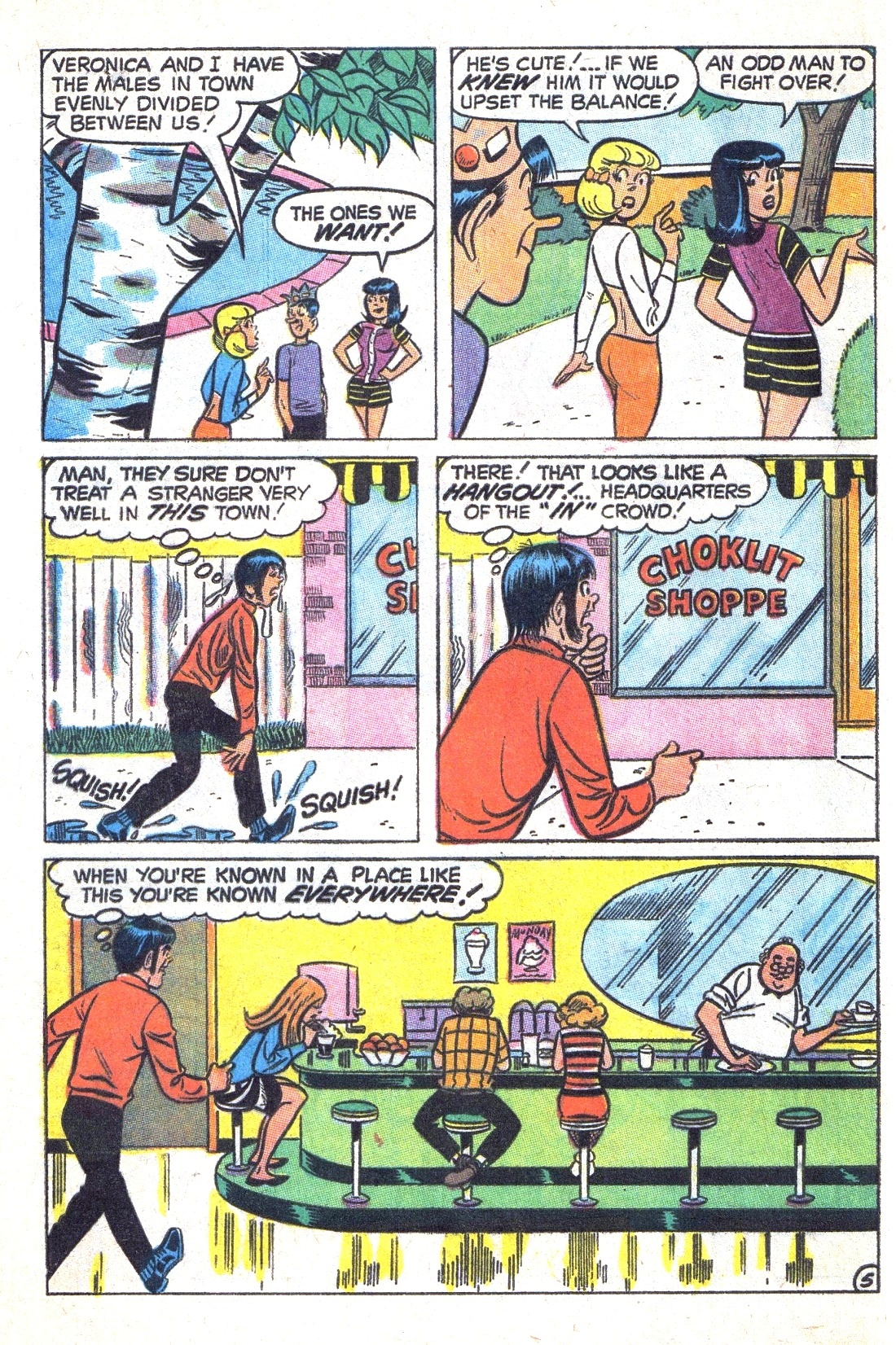 Read online Archie (1960) comic -  Issue #193 - 32