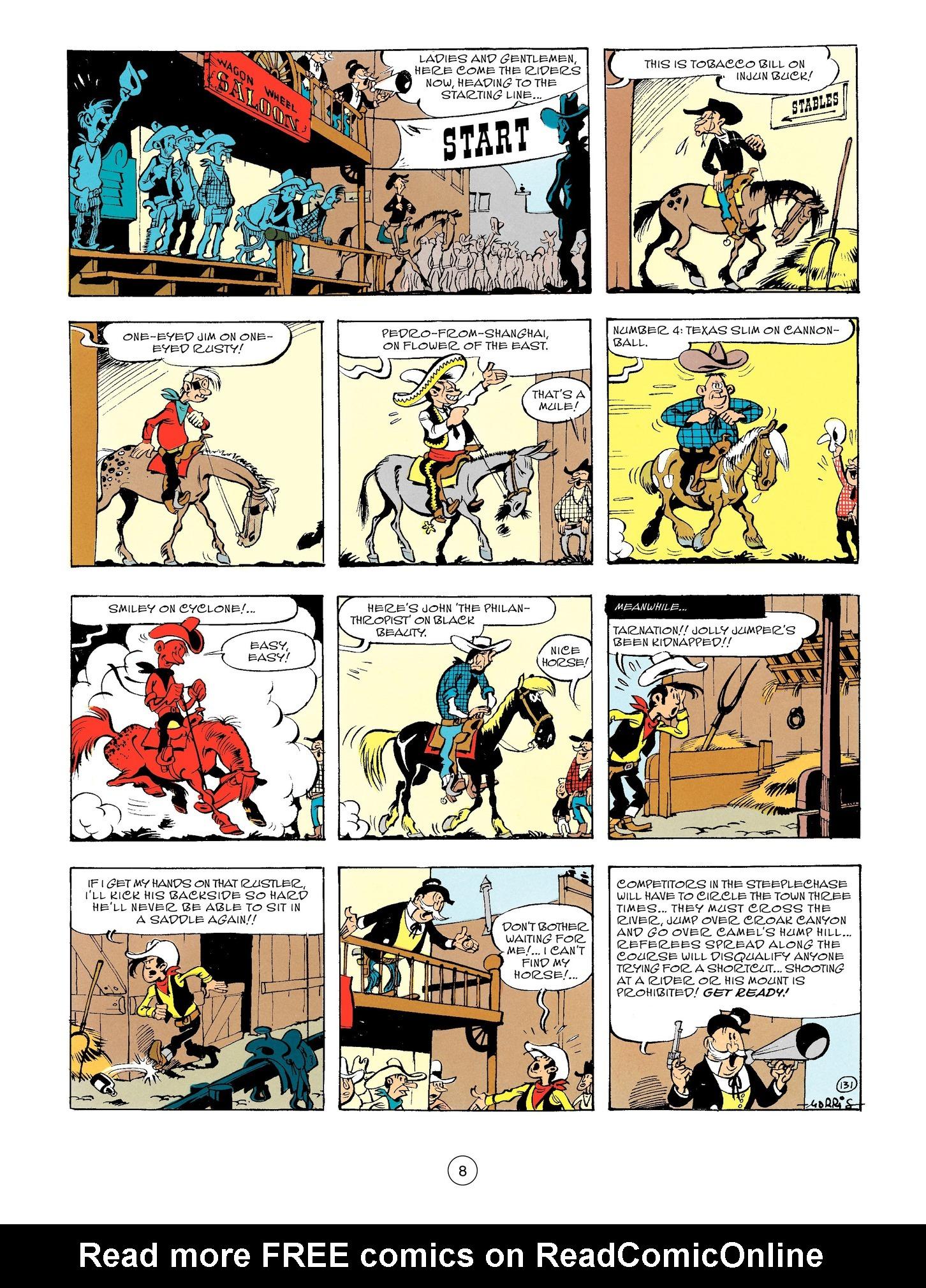 Read online A Lucky Luke Adventure comic -  Issue #56 - 8